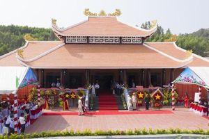 Đồng Nai: Khánh thành Đền thờ Liệt sĩ huyện Xuân Lộc diện tích 21.000m2