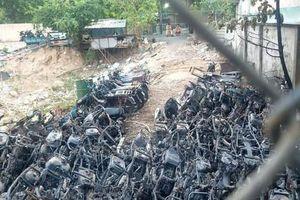 Công an TP Thủ Đức công bố nguyên nhân cháy bãi giữ xe vi phạm