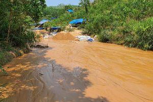 Truy quét hơn 100 người khai thác vàng trái phép khỏi mỏ vàng Bồng Miêu
