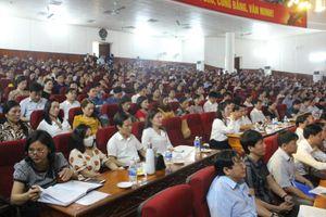 Hà Tĩnh: Tập huấn kỹ năng gặp gỡ và đối thoại báo chí cho cán bộ, giáo viên