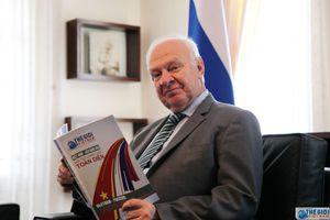'Khúc tâm tình' của Đại sứ Nga trước khi kết thúc nhiệm kỳ tại Việt Nam