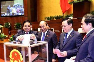 Lãnh đạo các nước gửi điện, thư chúc mừng lãnh đạo Việt Nam vừa được Quốc hội bầu
