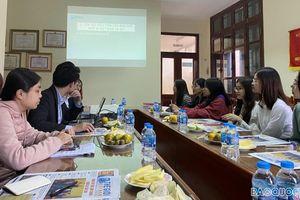 Báo Thế giới & Việt Nam tổ chức giao lưu với sinh viên và cộng tác viên trẻ