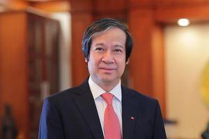Quốc hội phê chuẩn Phó Giáo sư, Tiến sĩ Nguyễn Kim Sơn làm Bộ trưởng Bộ Giáo dục và Đào tạo