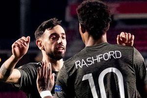 Rashford lập kỷ lục, M.U đặt một chân vào bán kết Europa League