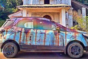 Ford EcoSport sơn phong cách 'rỉ sét' dị nhất từng thấy