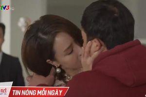 Hồng Đăng cay cú vì Hồng Diễm hôn người khác trên phim