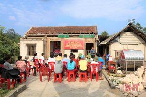 Thép Miền Nam - VNSTEEL hỗ trợ xây nhà ở cho hộ nghèo Hà Tĩnh