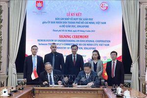 TP Hồ Chí Minh và Bộ Giáo dục Singapore thiết lập quan hệ hợp tác