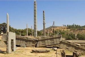 Tàn tích của thành phố cổ Aksum