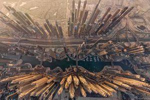 Ngắm các danh thắng tuyệt đẹp của thế giới từ trên cao