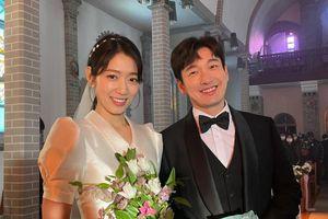 Park Shin Hye khoe ảnh cưới đẹp ngút ngàn bên chồng tài tử!