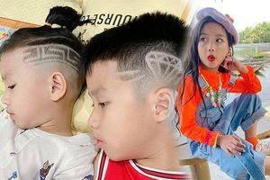 Muôn kiểu tóc độc, lạ của các con bà mẹ chịu chơi Ốc Thanh Vân