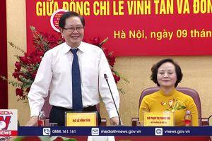 Tân Bộ trưởng Bộ Nội vụ nhậm chức