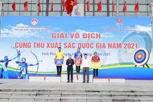 Vĩnh Phúc: Kết thúc Giải vô địch cung thủ xuất sắc quốc gia 2021