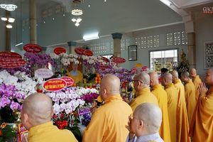 Lễ Đại tường Ni trưởng Thích nữ Như Châu, tại tổ đình Huê Lâm