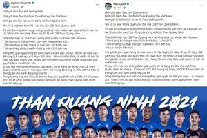 Bị nợ lương, thưởng, cầu thủ Than Quảng Ninh đồng loạt dọa bỏ thi đấu