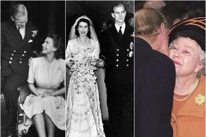 Mối tình sâu nặng của Hoàng thân Philip và Nữ hoàng Elizabeth II