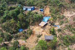 Quảng Nam: Lập lại trật tự tại mỏ vàng Bồng Miêu