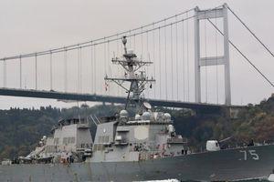 Mỹ sẽ điều 2 tàu chiến đến biển Đen, Nga nêu quan ngại