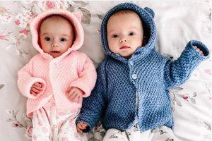 Mẹ mang thai 'siêu song sinh', 2 bé cách nhau 3 tuần