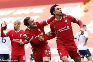 Hậu vệ lập công cuối trận, Liverpool lọt vào Top 4