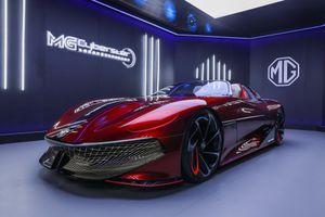 Hình ảnh thực tế concept siêu xe điện MG Cyberster