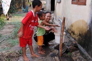 Niềm vui đón dòng nước sạch
