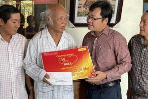 'Mai Vàng nhân ái' đến với Nghệ nhân ưu tú Ka Sô Liễng