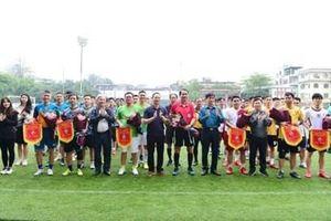 Sôi nổi Giải bóng đá chào mừng 10 năm Ngày truyền thống Trung tâm Phát thanh – Truyền hình Quân đội