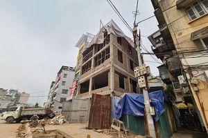 Công trình 189 Minh Khai vi phạm TTXD 'mọc' trên đường vành đai 2