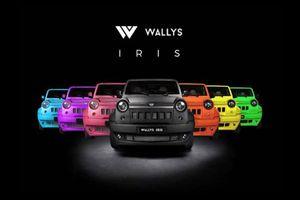 Wallys Iris, SUV siêu rẻ 299 triệu đồng, thân vỏ sợi thủy tinh
