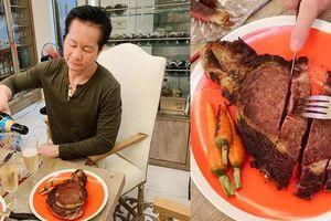 Phan Như Thảo khoe loạt món ăn 'ngon chuẩn nhà hàng' do chồng đại gia nấu