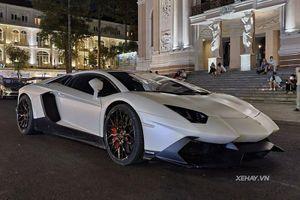 Đây là chiếc Lamborghini Aventador 'độc' nhất Việt Nam ở Sài Gòn
