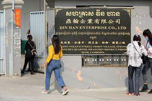 Covid-19: Campuchia phong tỏa một số khu vực, gần 1.000 công nhân trong một nhà máy bị lây nhiễm