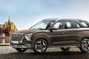 Lộ hình ảnh chính thức của Hyundai Alcazar