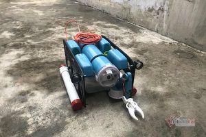 Robot lặn sâu 50m dưới biển giá 15 triệu của cậu học trò tỉnh lẻ