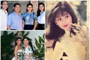 Nhan sắc mẹ chồng Tăng Thanh Hà hồi trẻ, xứng danh đại mỹ nhân Việt thập niên 90