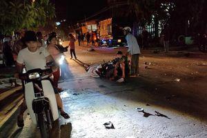 Tài xế uống rượu bia đâm hàng loạt xe máy làm 7 người thương vong