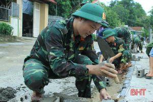 Xây dựng nông thôn mới ở Nghi Xuân: Không thể 'lỡ hẹn' với mục tiêu
