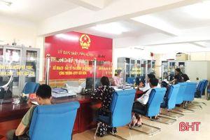 Vũ Quang: Gần 98% hồ sơ, thủ tục hành chính giải quyết đúng hạn