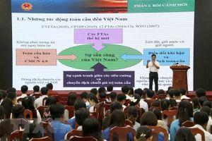 Lãnh đạo tỉnh Cà Mau gặp mặt gần 350 công chức, viên chức trẻ