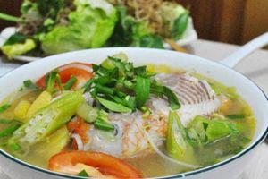 Canh cá diêu hồng nấu chua ai ăn cũng nghiện