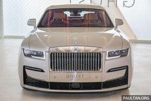 Siêu xe Rolls-Royce Ghost 2021 vừa ra mắt có gì đặc biệt?