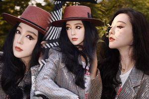 Phạm Băng Băng siêu hot với style makeup mắt mèo 'lệ rơi' tại show thời trang