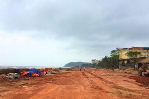 Thị xã Nghi Sơn hoàn thành việc giải phóng hàng quán khu vực ven biển và đẩy nhanh tiến độ thi công tuyến đường C-C3