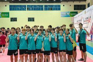 Giải vô địch các CLB Taekwondo Quốc gia 2021: Thanh Hóa giành 'vàng' ngay ngày đầu tiên