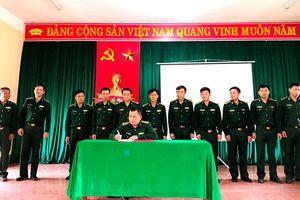 BCH BĐBP Quảng Bình phát động thi đua chào mừng bầu cử đại biểu Quốc hội khóa XV