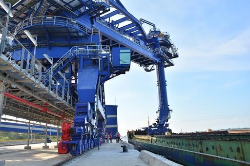Công nghệ chế tạo tổ hợp bốc dỡ, vận chuyển than
