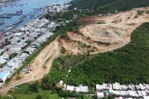 Khu đô thị Haborizon Nha Trang: Nổ mìn phá đá làm dự án, dân bất an